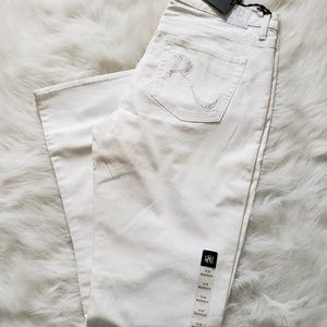 Women's New White Jean's size 16 Rock & Republic